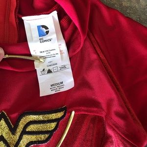 DC Comics Costumes - Girls Wonder Woman Superhero Costume M